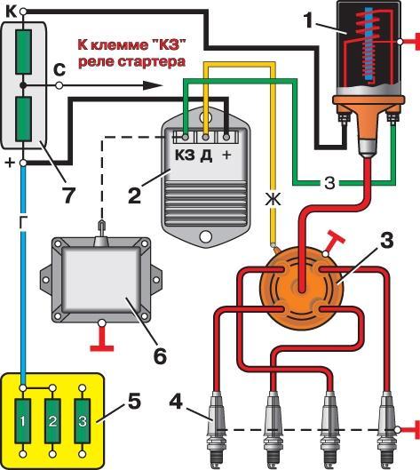система зажигания газ 3110