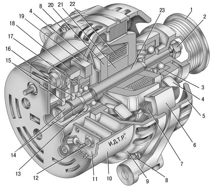генератор газ 3110 схема - Всемирная схемотехника.